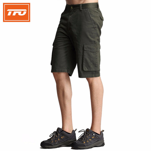TFO 7311401 Men's Cotton Cargo Shorts-Outdoor Shorts-The First Outdoors-PanzerCases