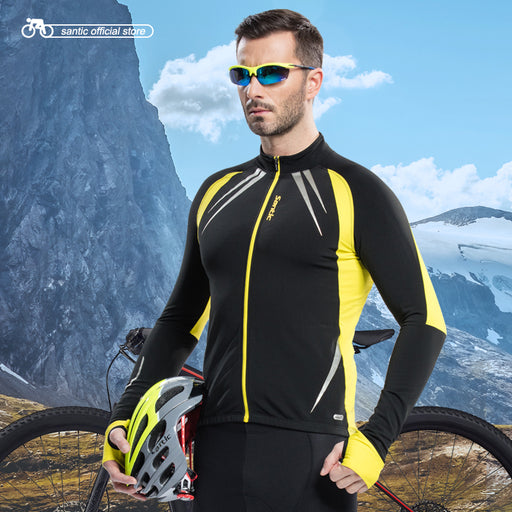 Santic 'Siberia' Thermal Cycling Jacket-Cycle Jackets-Santic-PanzerCases