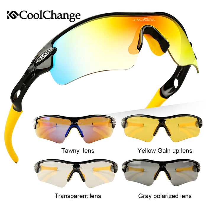 CoolChange '511' Polarised Cycling Glasses-Sunglasses-CoolChange-PanzerCases