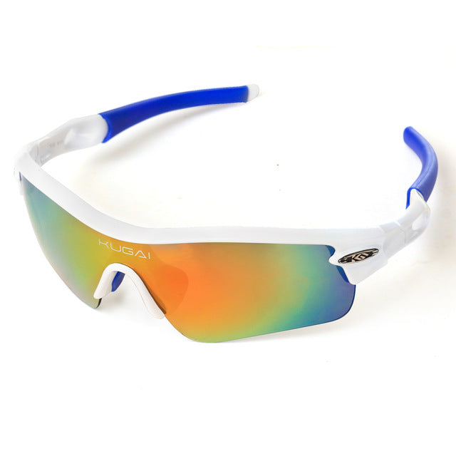 CoolChange '511' Polarised Cycling Glasses-Sunglasses-CoolChange-white-PanzerCases