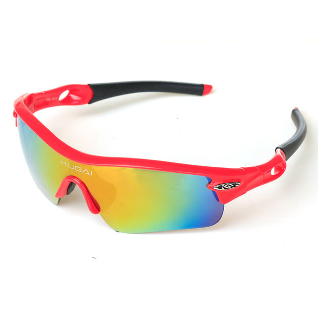 CoolChange '511' Polarised Cycling Glasses-Sunglasses-CoolChange-red-PanzerCases