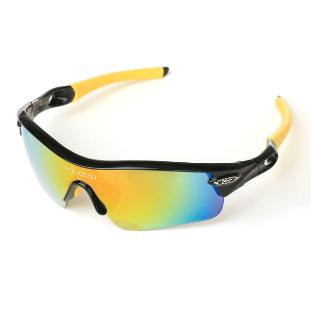 CoolChange '511' Polarised Cycling Glasses-Sunglasses-CoolChange-yellow-PanzerCases