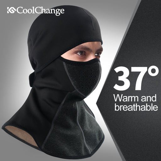 CoolChange CC-B1 Waterproof Thermal Balaclava-Bike Headwear-CoolChange-PanzerCases
