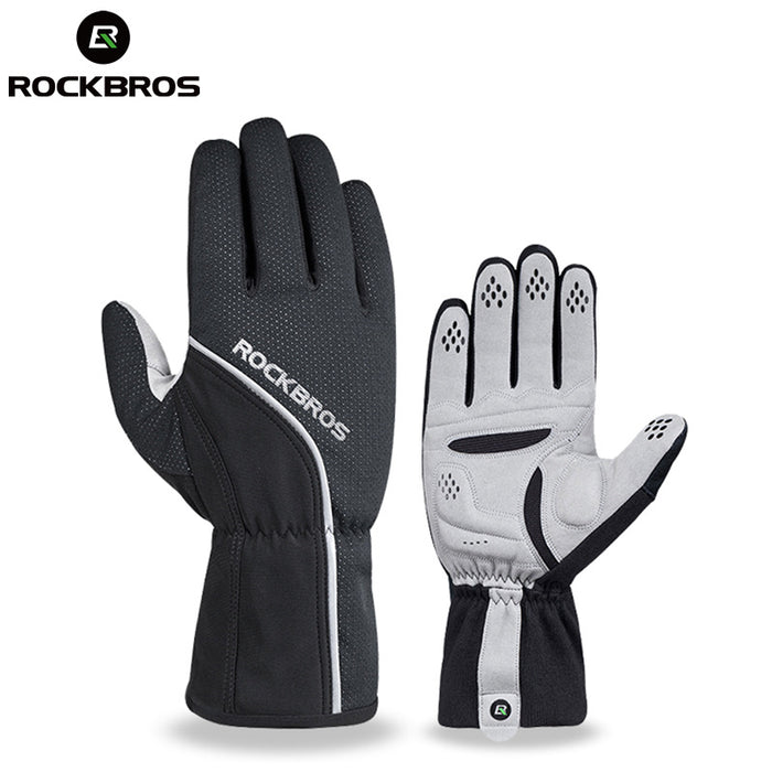 ROCKBROS Model S114 Thermal Winter Cycling Glove-Bike Gloves-RockBros-PanzerCases