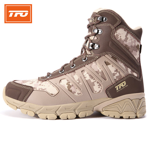 TFO Model 832730 Men's Camouflage Boots-Trekking Boots-The First Outdoors-PanzerCases
