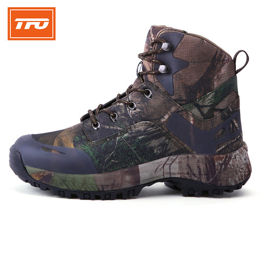 TFO Model 832731 Men's Camouflage Trekking Boots-Trekking Boots-The First Outdoors-PanzerCases