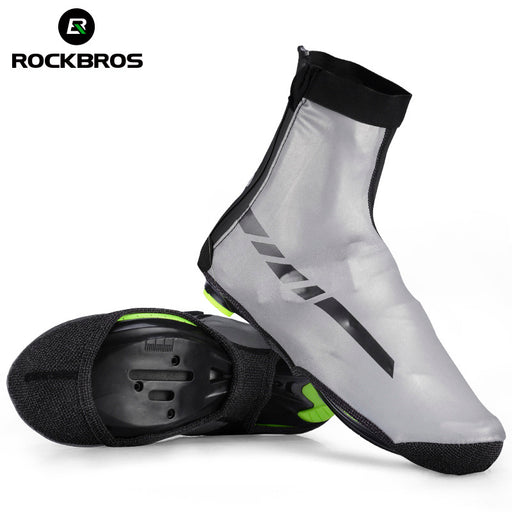 ROCKBROS Heavy-Duty Waterproof Thermal Overshoes-Cycle Overshoes-RockBros-PanzerCases