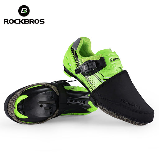 ROCKBROS Windproof Insulated Road Shoe Toe Cover-Cycle Overshoes-RockBros-PanzerCases