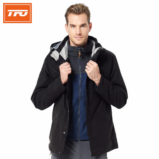 TFO 2817560 Men's 3-in-1 Hardshell Jacket-Outdoor Jacket-The First Outdoors-PanzerCases