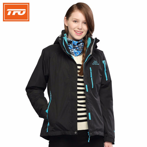 TFO 2815435 Women's 3-in-1 Hardshell Jacket-Outdoor Jacket-The First Outdoors-PanzerCases