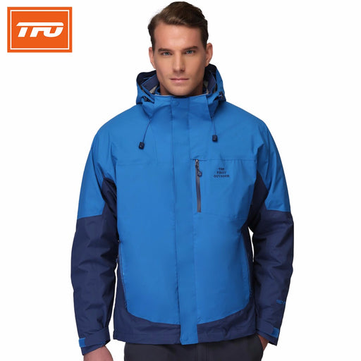 TFO 2817581 Men's 3-in-1 Hardshell Jacket-Outdoor Jacket-The First Outdoors-PanzerCases