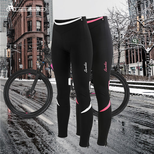 Santic Women's Classic Cycling Tights-Cycle Tights-Santic-PanzerCases