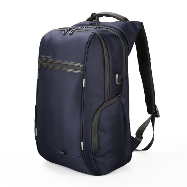 Kingsons 'City Elite' Laptop Backpack-Camera Bags-Kingstons-Model A Blue-China-13 Inch-PanzerCases