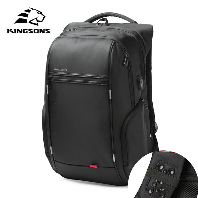 Kingsons 'City Elite' Laptop Backpack-Camera Bags-Kingstons-Model A Sucker-China-13 Inch-PanzerCases