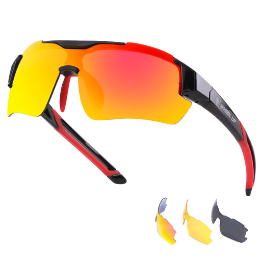 Wheel Up 'Pro' UV400 Polarised Cycling Eyewear-Sunglasses-Wheel Up-PanzerCases