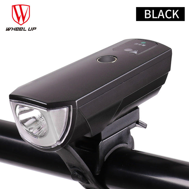 Wheel Up High Power 350 Lumen Intelligent Head Lamp System-Front Lights-Wheel Up-black-PanzerCases