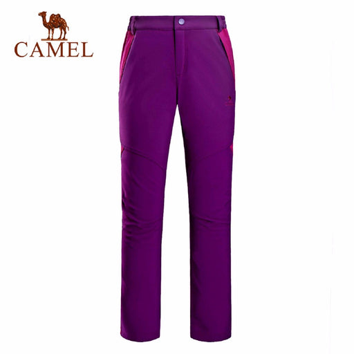 Camel Outdoor 'Pamir' Women's Softshell Pants-Outdoor Trousers-Camel Sports-PanzerCases