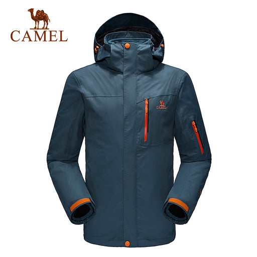 Camel Outdoor 'Quest' Shell Jacket-Outdoor Jacket-Camel Outdoor-PanzerCases