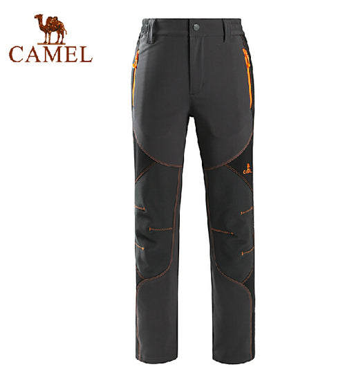 Camel Outdoor 'Altai' Women's Softshell Pants-Outdoor Trousers-Camel Sports-PanzerCases