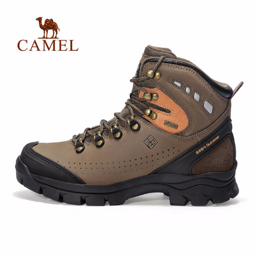 Camel Sports Men's High-Leg Hiking Boots-Hiking Boots-Camel Outdoor-PanzerCases