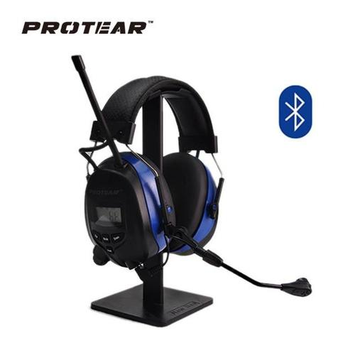 Protear NRR 25dB AM/FM & Bluetooth Electronic Ear Defenders-Hearing Protection-Protear-With Microphone-PanzerCases