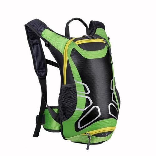 R15 Ultra-lightweight Cycling Backpack-Cycle Backpack-ASO-Green-PanzerCases