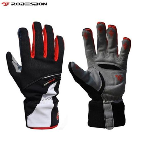 Robesbon Thermo Pro Waterproof Winter Cycling Gloves-Bike Gloves-Robesbon-PanzerCases