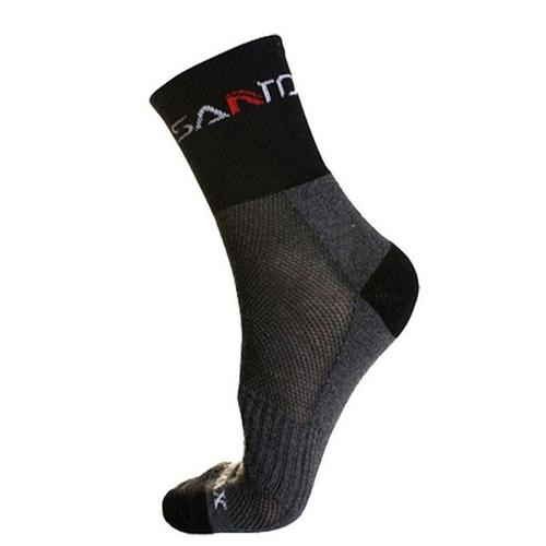 Santo Ultra-Light Speed Sock-Hiking Socks-Santo-Black-39-45-PanzerCases
