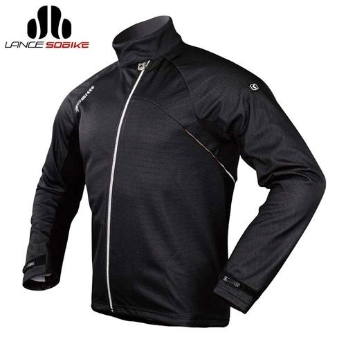 SOBIKE 'Blizzard' Thermal Windproof Winter Cycling Jacket-Cycle Jackets-SOBIKE-PanzerCases