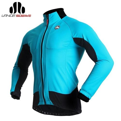SOBIKE 'Tiger Shark' Windproof Long Sleeve Thermal Cycling Jacket-Cycle Jackets-SOBIKE-PanzerCases