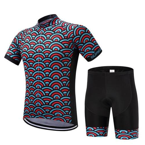 Surea Vandalin Short Sleeve Cycle Set-Cycle Sets-Surea-Jersey and pants-S-PanzerCases