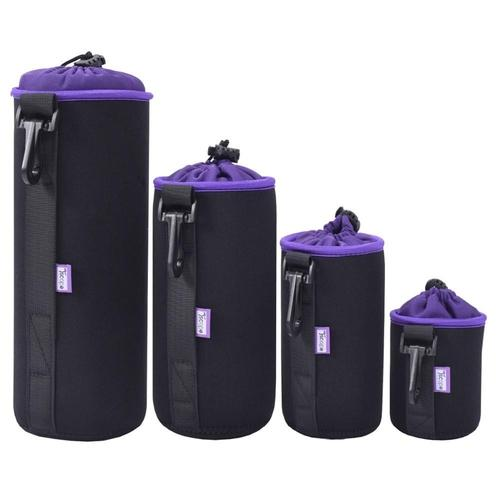 Tscope Universal Camera Lens 4 Piece Case Set-Lens Case-Tscope-PanzerCases