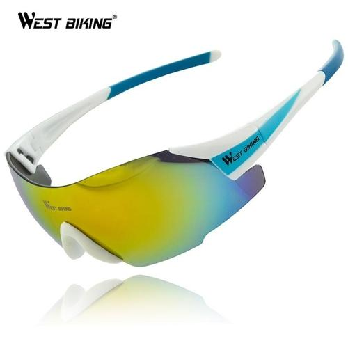 West Biking '3100AA' Polarised UV400 Lightweight Pro Cycling Glasses-Sunglasses-West Biking-PanzerCases