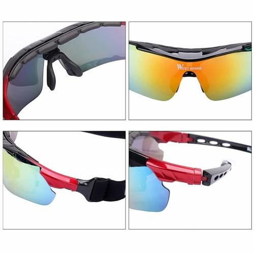West Biking '3111N' Polarised Lightweight Cycling Glasses-Sunglasses-West Biking-PanzerCases