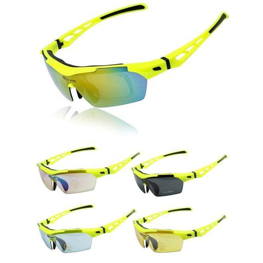 West Biking '3116A' Polarised Lightweight Sports Glasses-Sunglasses-West Biking-PanzerCases