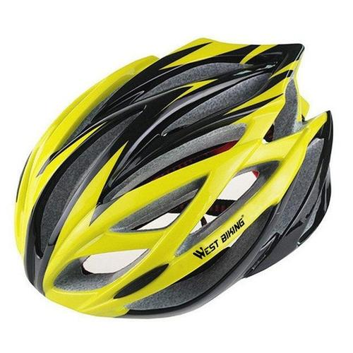 West Biking 8002-6 Ultralight MTB & Cycling Helmet-Cycle Helmet-West Biking-Yellow-PanzerCases