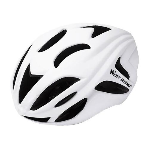 West Biking 8046 Ultralight Road Cycling Helmet-Cycle Helmet-West Biking-White-PanzerCases