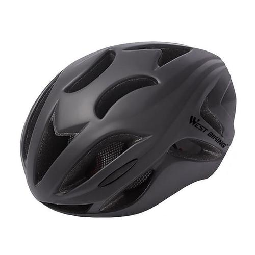 West Biking 8046 Ultralight Road Cycling Helmet-Cycle Helmet-West Biking-Black-PanzerCases