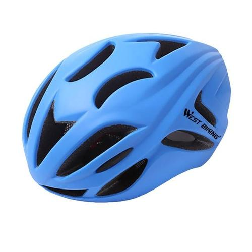 West Biking 8046 Ultralight Road Cycling Helmet-Cycle Helmet-West Biking-Blue-PanzerCases