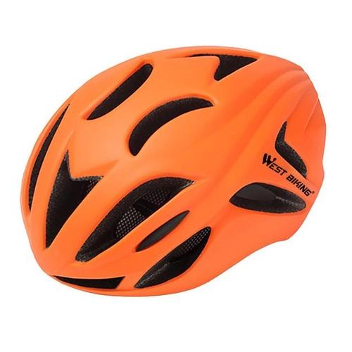 West Biking 8046 Ultralight Road Cycling Helmet-Cycle Helmet-West Biking-Orange-PanzerCases