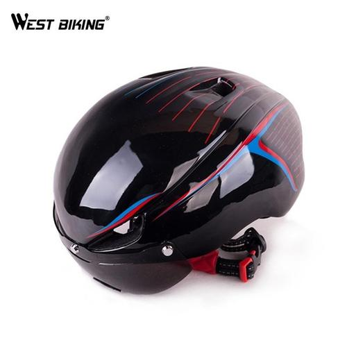 West Biking 8067 Ultralight Aerodynamic Road Cycling Helmet-Cycle Helmet-West Biking-PanzerCases