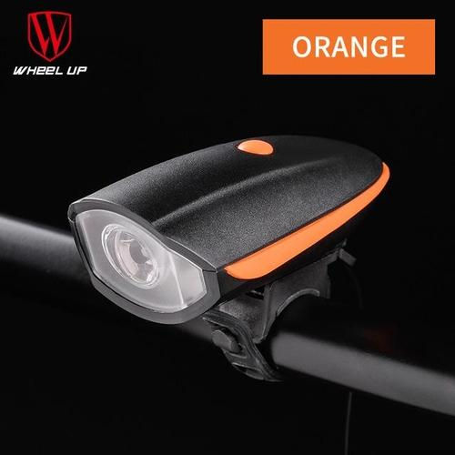 Wheel Up 240 Lumen Intelligent Headlight System-Front Lights-Wheel Up-Orange-PanzerCases