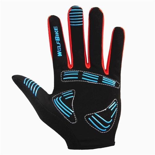 Wolfbike Gel-Pro Full Finger Cycling Glove-Bike Gloves-Wolfbike-PanzerCases