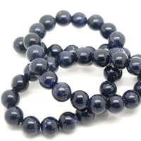 STAR BEADS: ROUND 8MM STRAND NATURAL GEMSTONE BEADS - PICK COLOUR - Glass Gemstone Beads