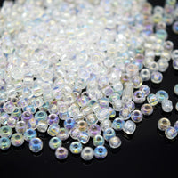 STAR BEADS: SEED GLASS BEADS - PICK COLOUR & SIZE - Seed Beads