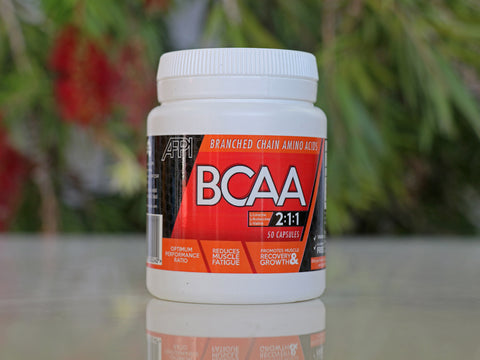 Plant based BCAA capsules (500 mg/capsule; 50 capsules)