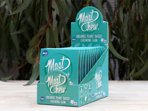 Mast Chew Mint Sleeve x 12