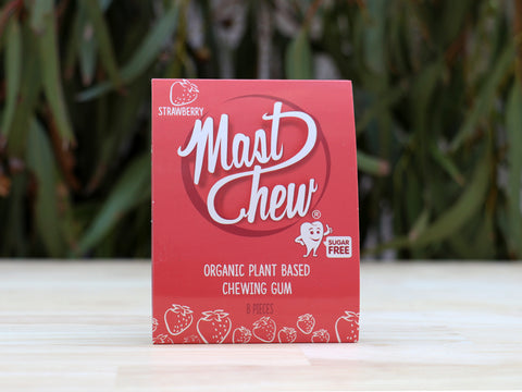 Mast Chew Strawberry Sleeve (8 pcs)