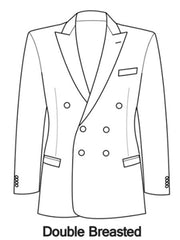 How to button a Double Breasted Tuxedo / Suit Jacket