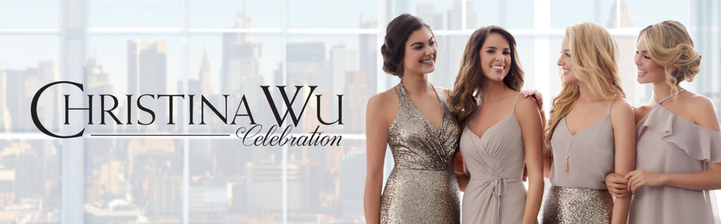 Christina Wu Bridesmaids Dresses, Celebration Line